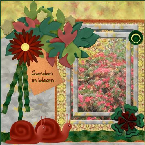 Oct.2016 - Garden in bloom