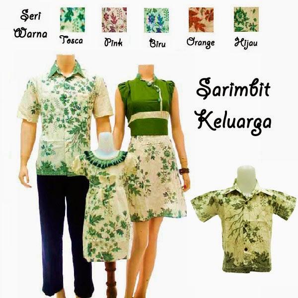 SK031 Sarimbit Keluarga Solo-Batik 2014