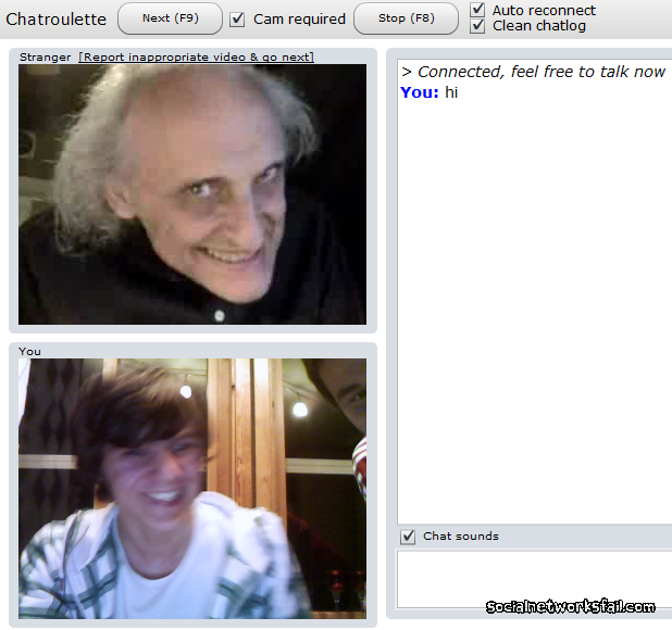 Random dating chatroulette