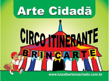 Nitolino no Circo Itinerante Brincarte