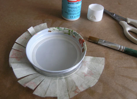 Make your own jar lids