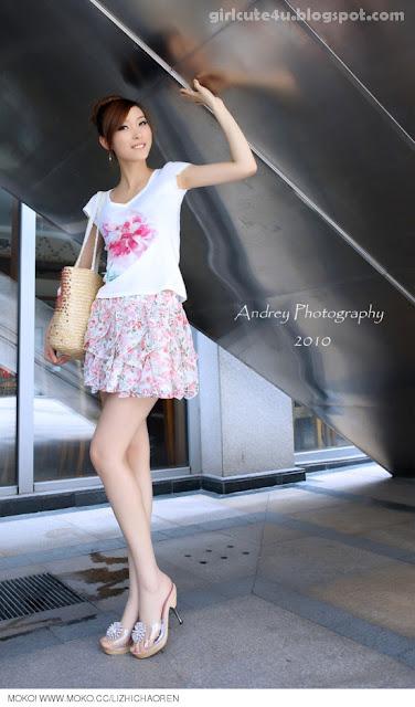 Li-Fan-Pink-and-White-17-very cute asian girl-girlcute4u.blogspot.com