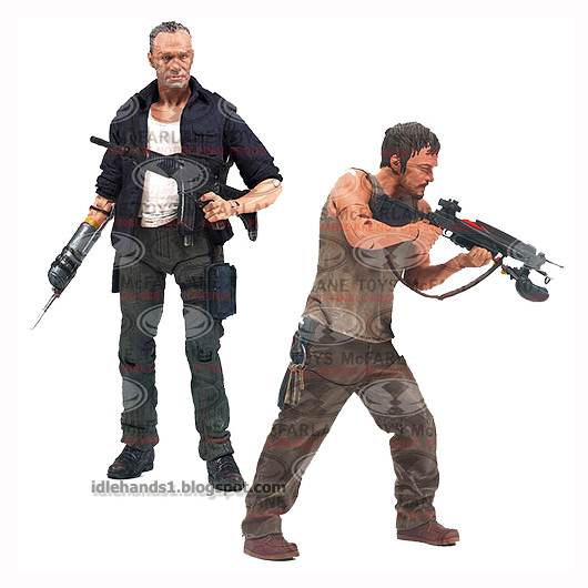 Toys For Brothers : Idle hands a closer look at the dixon brothers pack