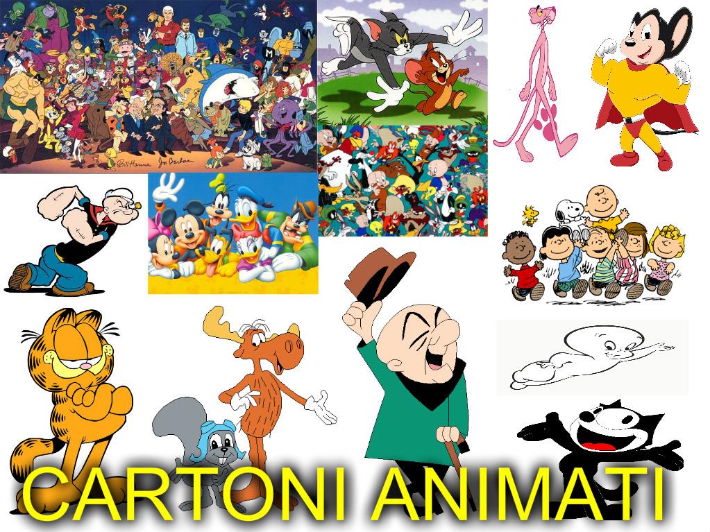 Tutti i cartoni animati trasmessi in italia