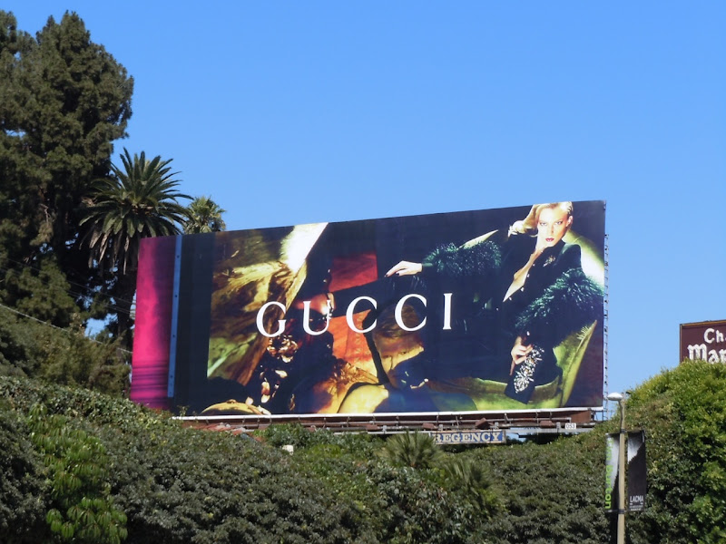 Gucci Women's Fall 2011 billboard