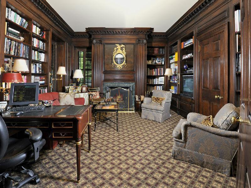 Dark Golden Room Mansion House