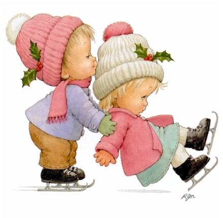 Imagenes de niños tiernos en caricaturas - Imagui