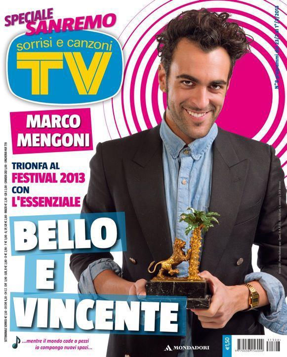 Marco Mengoni, copertina, sorrisi e canzoni