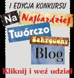 """<a href=""""http://coricamo.pl/konkursy.htm"""" title=""""I edycja konkursu na najbardziej twórczo zakręcony blog"""" target=""""_blank""""><img src=""""http://coricamo.com/img/coricamo-konkurs.png"""" alt=""""I edycja konkursu na najbardziej twórczo zakręcony blog""""></a>"""