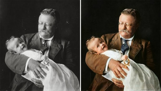 Theodore Roosevelt - manipulação digital - Sanna Dullaway