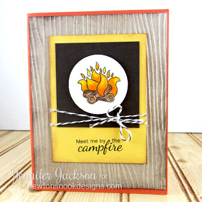 Meet me by the Campfire Card