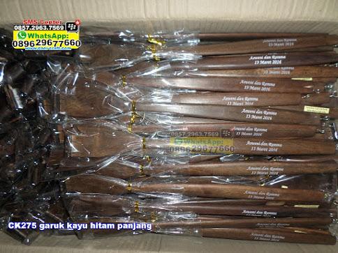 garuk kayu hitam panjang unik