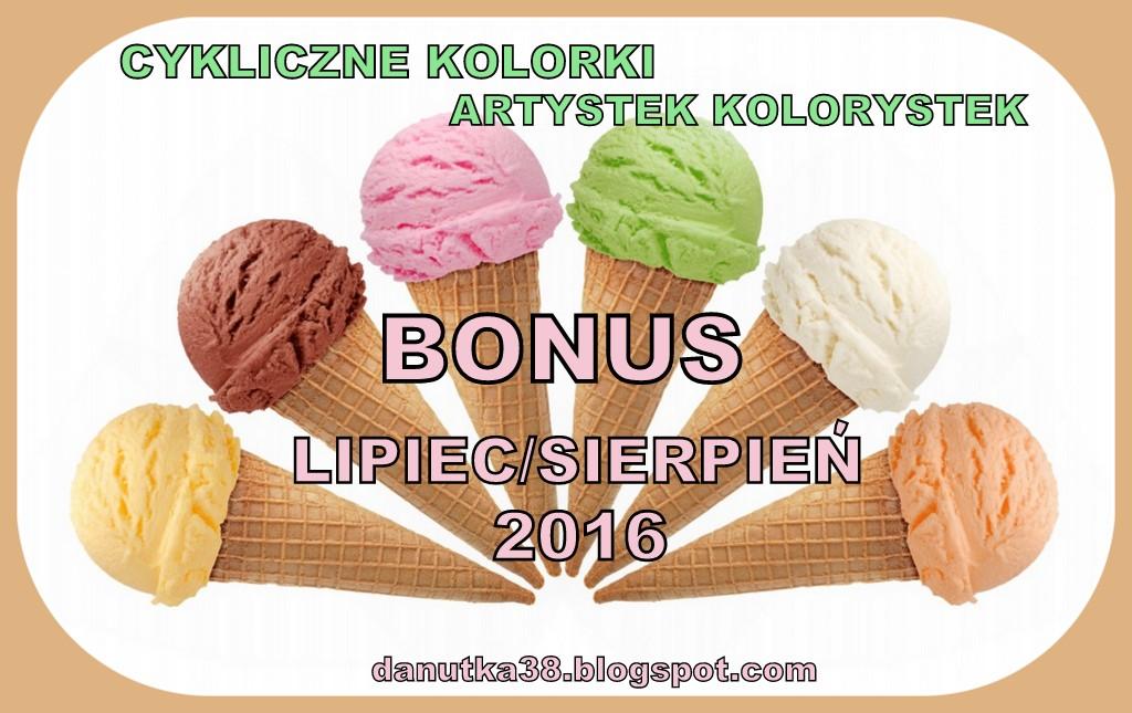 Lipcowo-sierpniowe lody