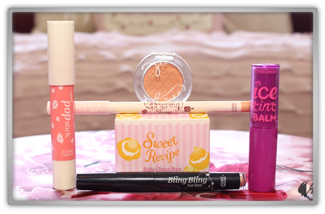 Jolse Order Etude House Clearance sale Haul Review 2015 beauty blogger recipe base rose drawing ice tint eyes look stick popstick