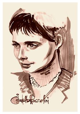 Isabella Rossellini portrait