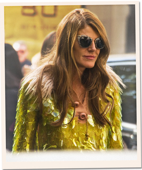 Psynopsis LFW Anna dello Russo in Prada