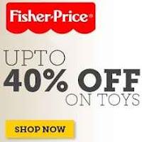 Buy Fisher Price kids Toys Upto 40% OFF Via  Babyoye.com :buytoearn