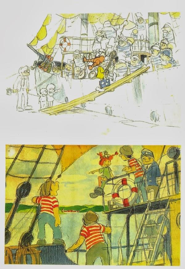 Pippi Langstrump segun Miyazaki