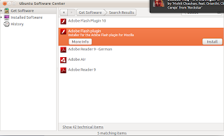 Screenshot 1 Adobe Flash Player in Ubuntu 11.04 | Two ways to Install