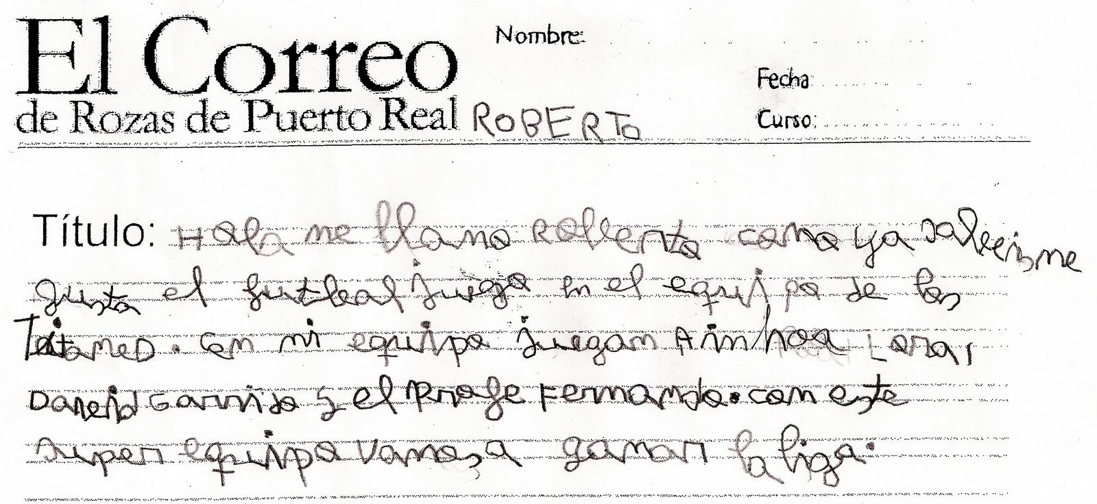 El correo de rozas de puerto real la liga de f tbol del cole for Horario correos puerto real