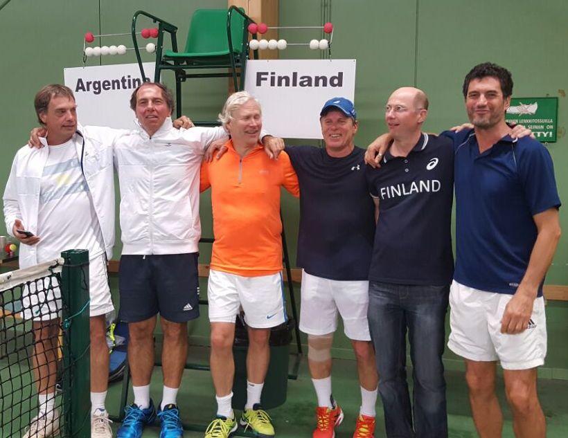 ITF SENIORS - MUNDIAL HELSINKI - FINLANDIA