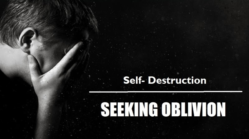 a description of the self destruction suicide And negative life events rather, self-destructive tendencies may produce unbearable mental pain that culminates in suicidal behavior much of the research on self-definition however, a relative emphasis on ei- ther interpersonal relatedness or self-definition may result in two broad configurations of psychopathology.