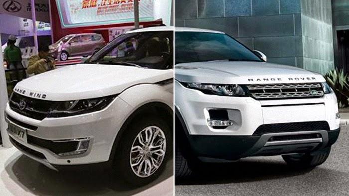 LandWind X7: Chinese Copy of Range Rover Evoque | Car ...