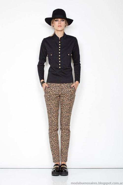 Janet Wise invierno 2014 moda invierno 2014.