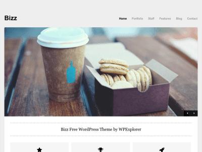 Bizz WordPress Theme