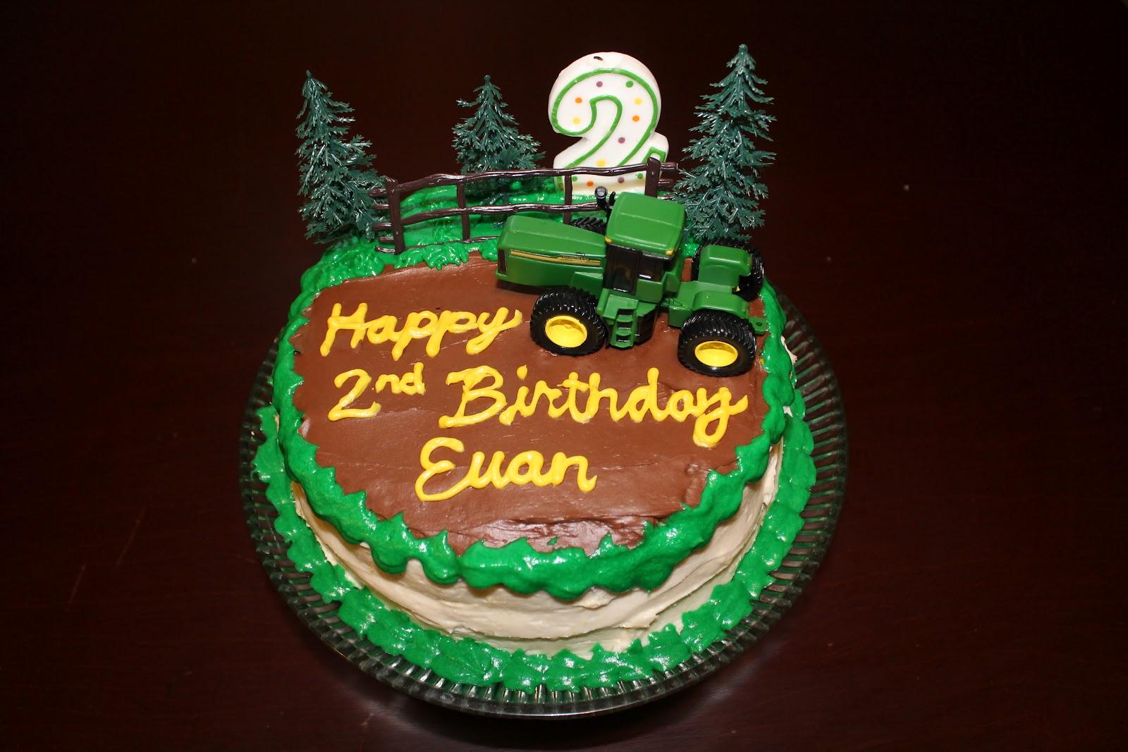 Life Is Good John Deere Birthday Cake
