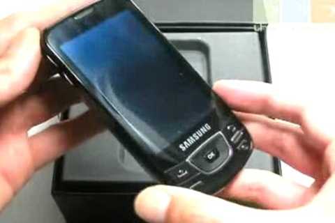 hands on samsung galaxy