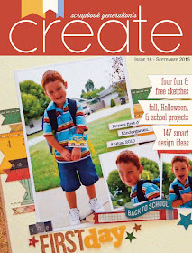Scrapbook Generation Create Magazine September 2015