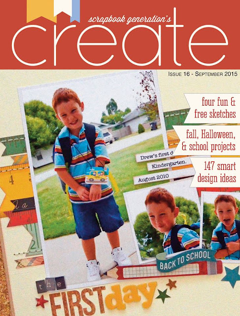 Scrapbook Generation Create Magazine September 2015