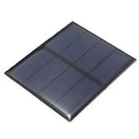 Célula solar fotovoltaica 2 Volts - kit com 6 unidades.
