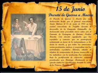 Bolivar, Padre Libertador. Bicentenario - Página 5 Decreto%2Bde%2Bguerra%2Ba%2Bmuerte