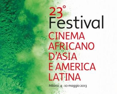 Locandina 23° festival cinema africano a Milano maggio 2013