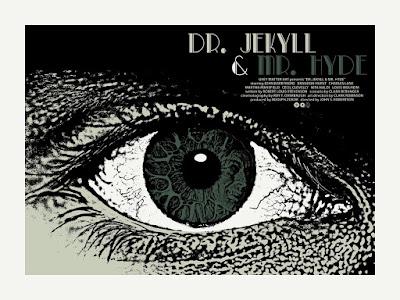 Dr. Jekyll & Mr. Hyde Standard Edition Screen Print by Chris Garofalo