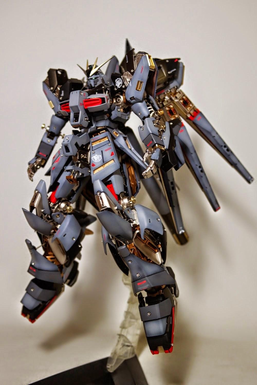 Rx93v2 Hinu Gundam From Mobile Suit Char39s Rx 93 V Nu Ver Ka Master Grade 1100 Daban Model Mg 1 100 V2 Hi Open Hatch Presentation Custom Build
