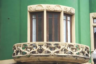 Gijón, Modernismo, edificio calle La Merced 27