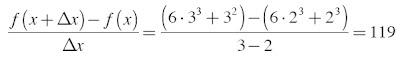 kecepatan rata-rata benda dalam selang waktu 2 ≤ x ≤ 3