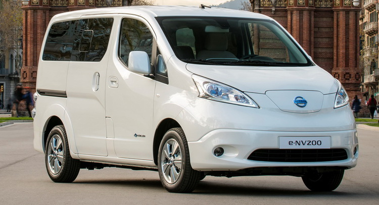 lastcarnews seven seat all electric nissan e nv200 launched in the uk. Black Bedroom Furniture Sets. Home Design Ideas