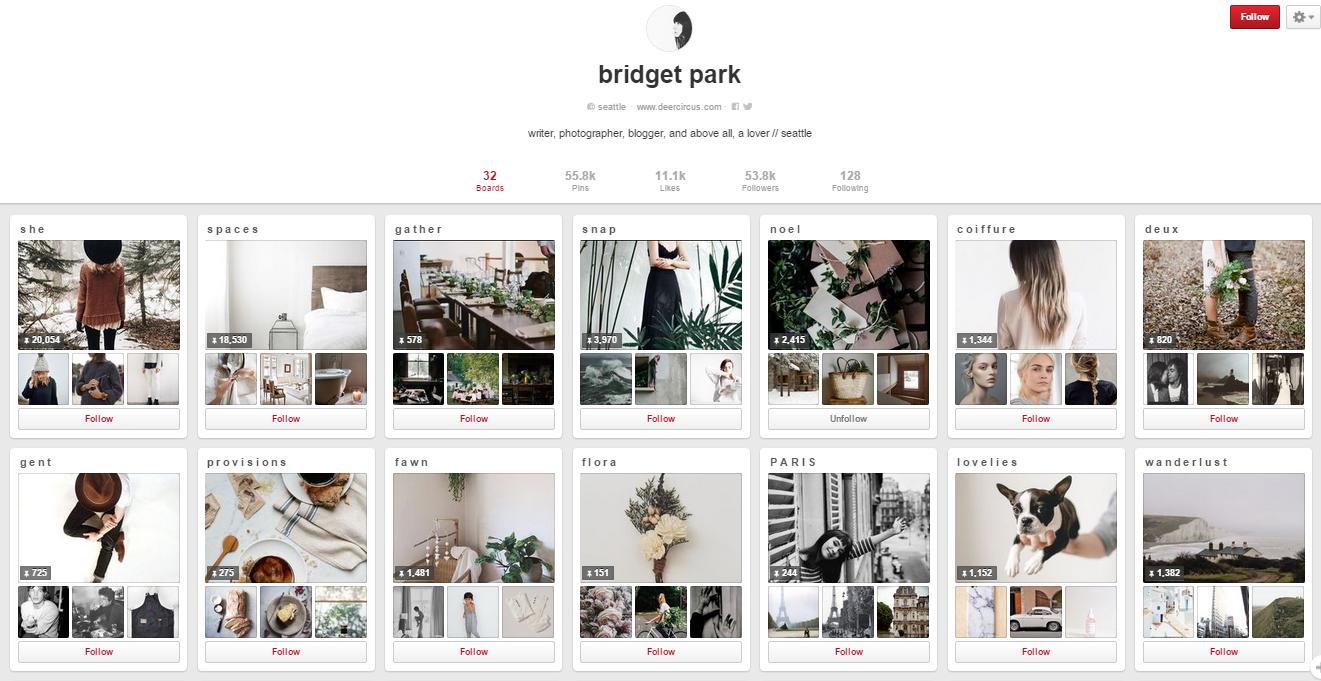 Bridget Park instagram
