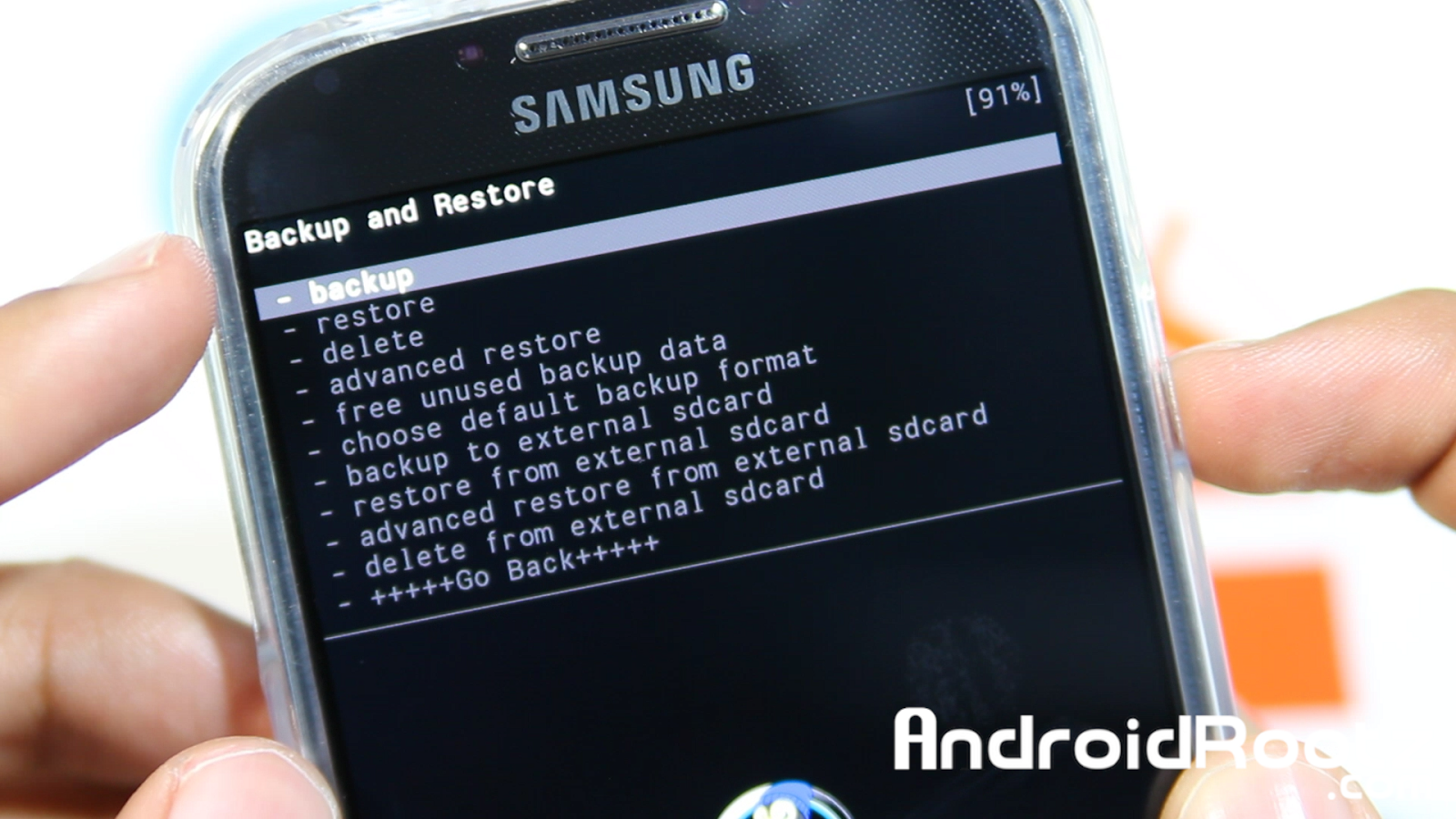 Phone Complete Phone Backup Android how to do a nandroid backup on galaxy s4 and restore rom the will take about 10 minutes complete