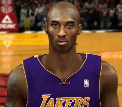 NBA 2K14 Kobe Bryant Face Mod