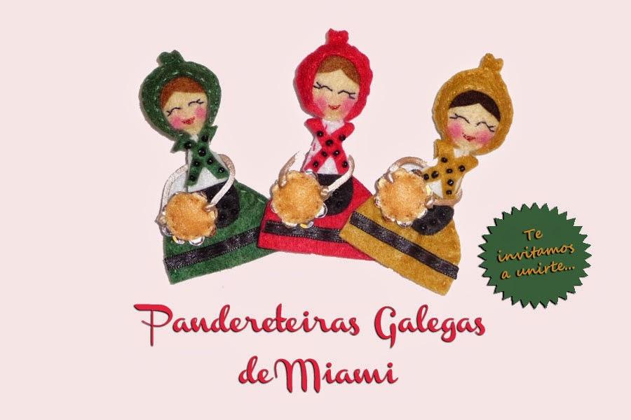 Pandereteiras Galegas de Miami