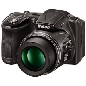 Amazon: Buy Nikon Coolpix L830 Camera and 4gb Card with Case at Rs.12,025