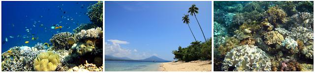 Pulau Kakara - Wisata Halmahera Utara (Wilayah Tobelo)