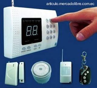 Sistema de seguridad electrónico sin cables