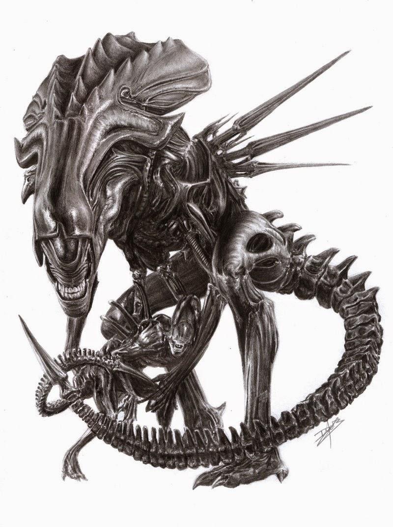 12-The-Alien-Queen-Daisy-van-den-Berg-How-To-Draw-a-Realistic-www-designstack-co