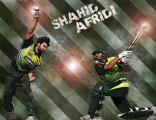 Boom boom afridi handsome pics  hot afridi wallpapers  shahid khan afridi pakistan posters and sixes